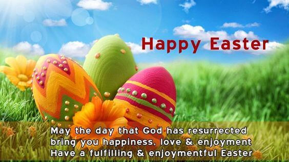 happy joyful Easter wishes image