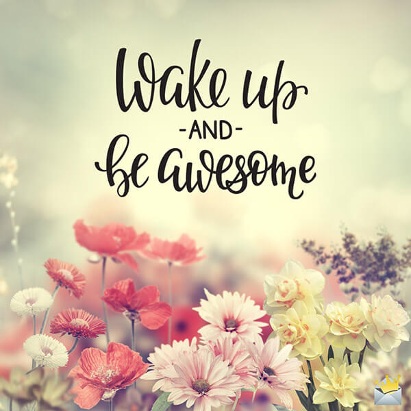 cute good morning message image