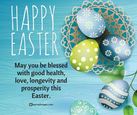 blessed happy Easter wishes image