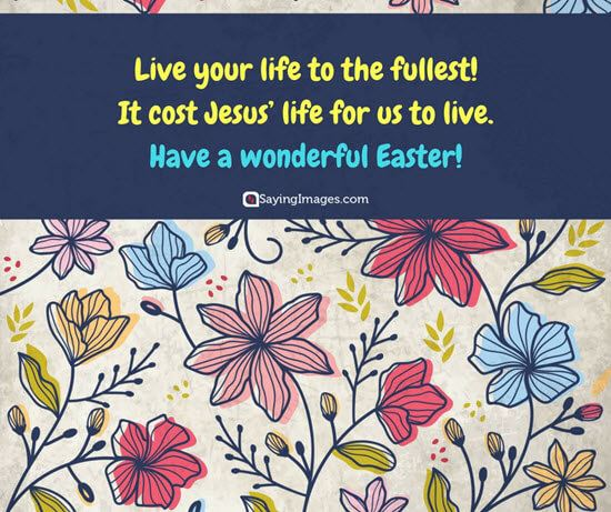 wonderful Easter quote image