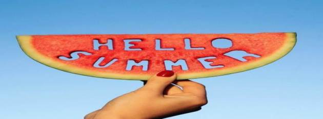 watermelon hello summer facebook cover photo for timeline