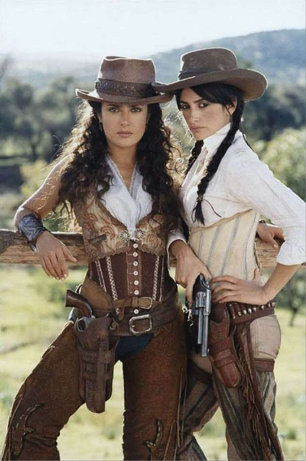 90's cowgirl outfit style with hostler and corset