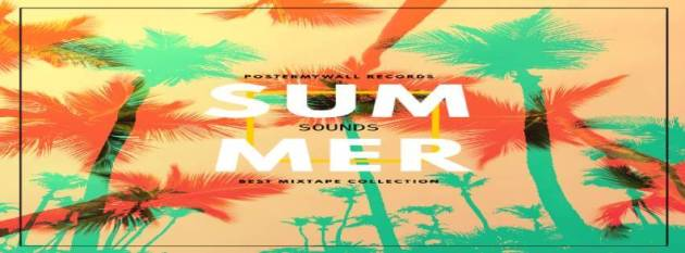 summer music sounds facebook cover photo for timeline