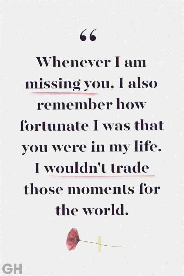 i am missing you quote