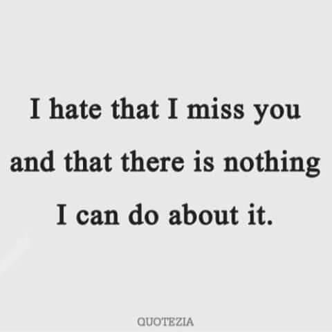 sad miss you quote