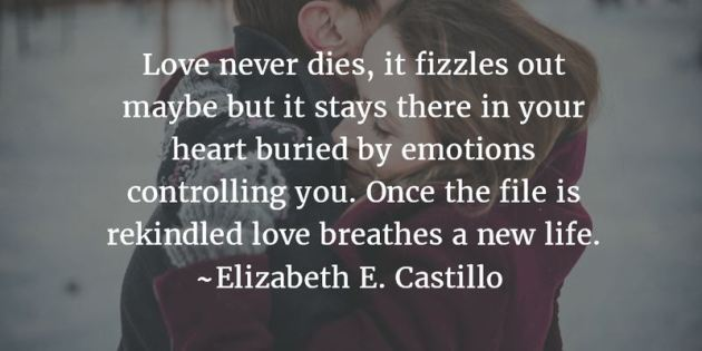 love never dies quote