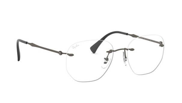 modern rimless glasses