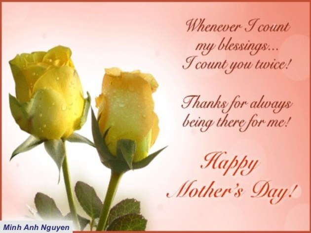 happy mothers day blessings count quote
