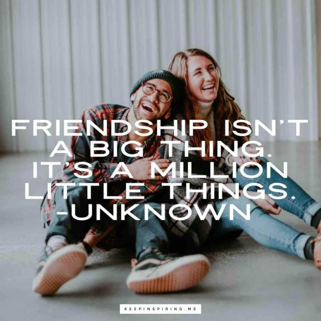 general friendship quote image