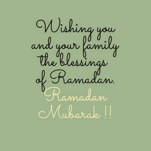 happy ramadan mubarak wishes message