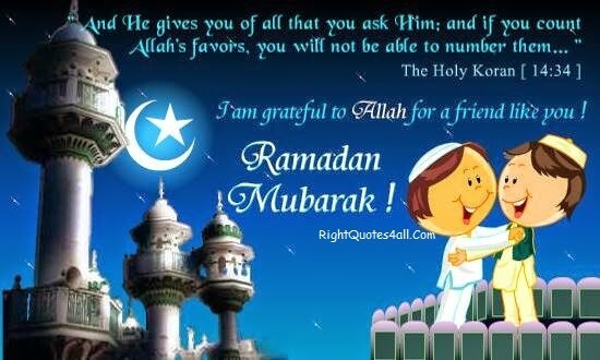 i am grateful to allah quote for ramadan