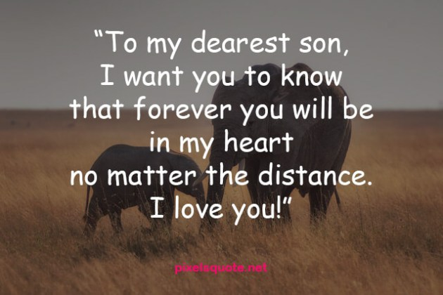 i love you dearest son quote