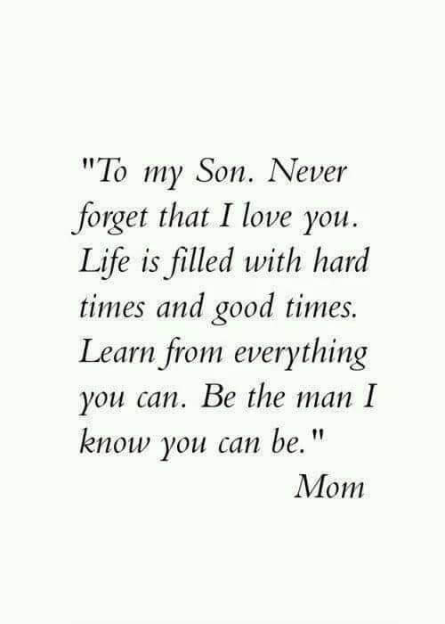 i love you quote image for son from mom