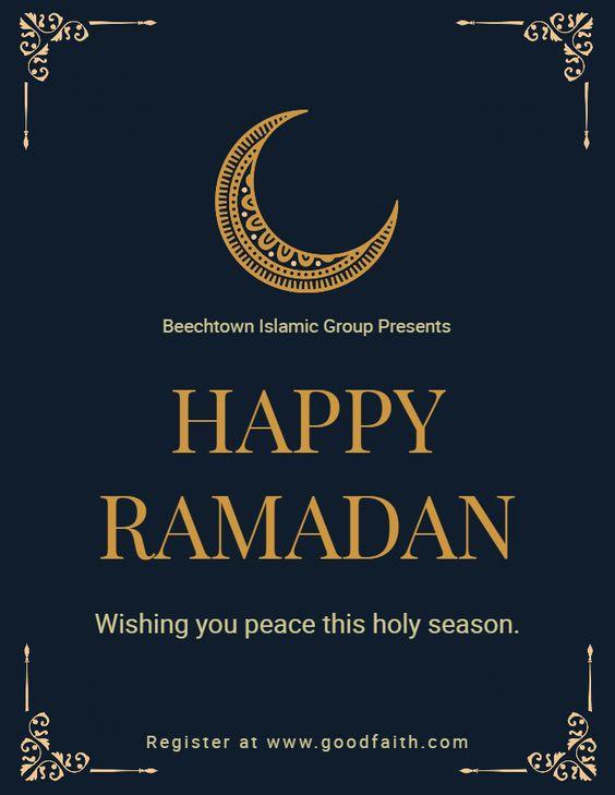 ramadan season greeting wishes