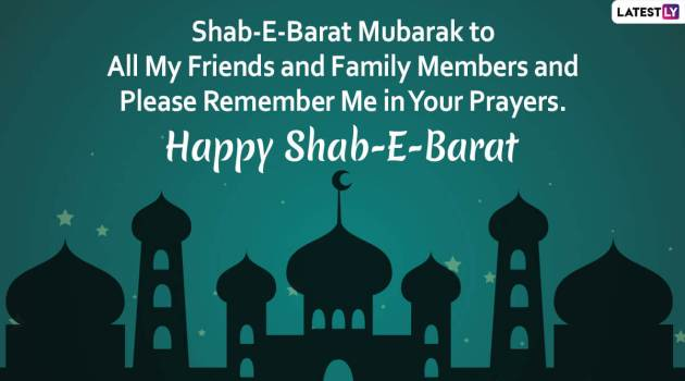 shab e barat mubarak message wallpaper-image for friends and family