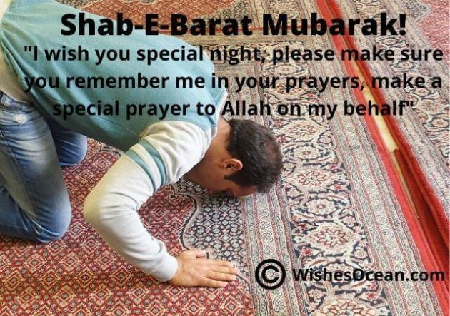 shab e barat mubarak wishes message picture