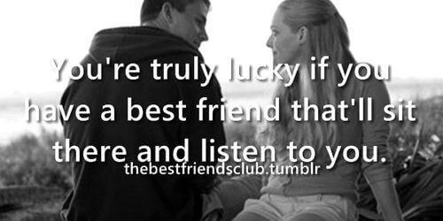 one true best friend quote image