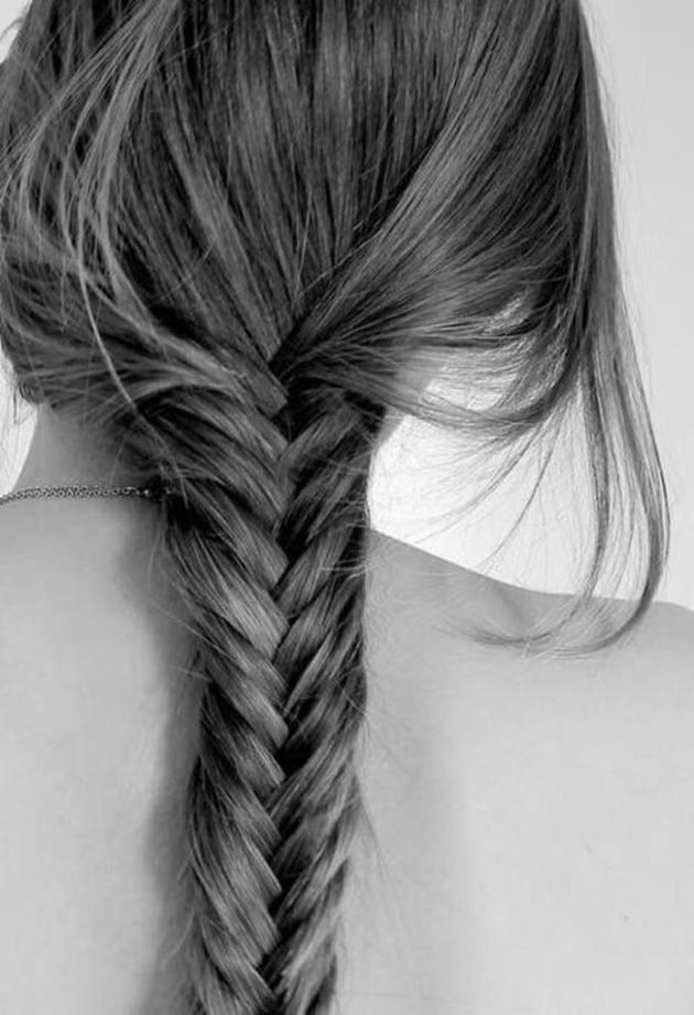 easy fish tail braid hair style