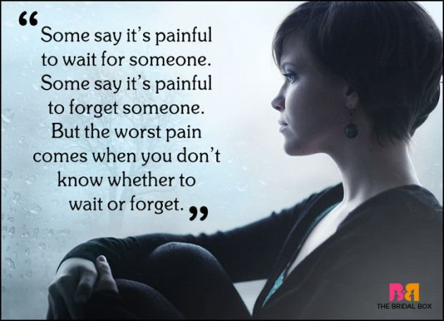 painful quote pic on love