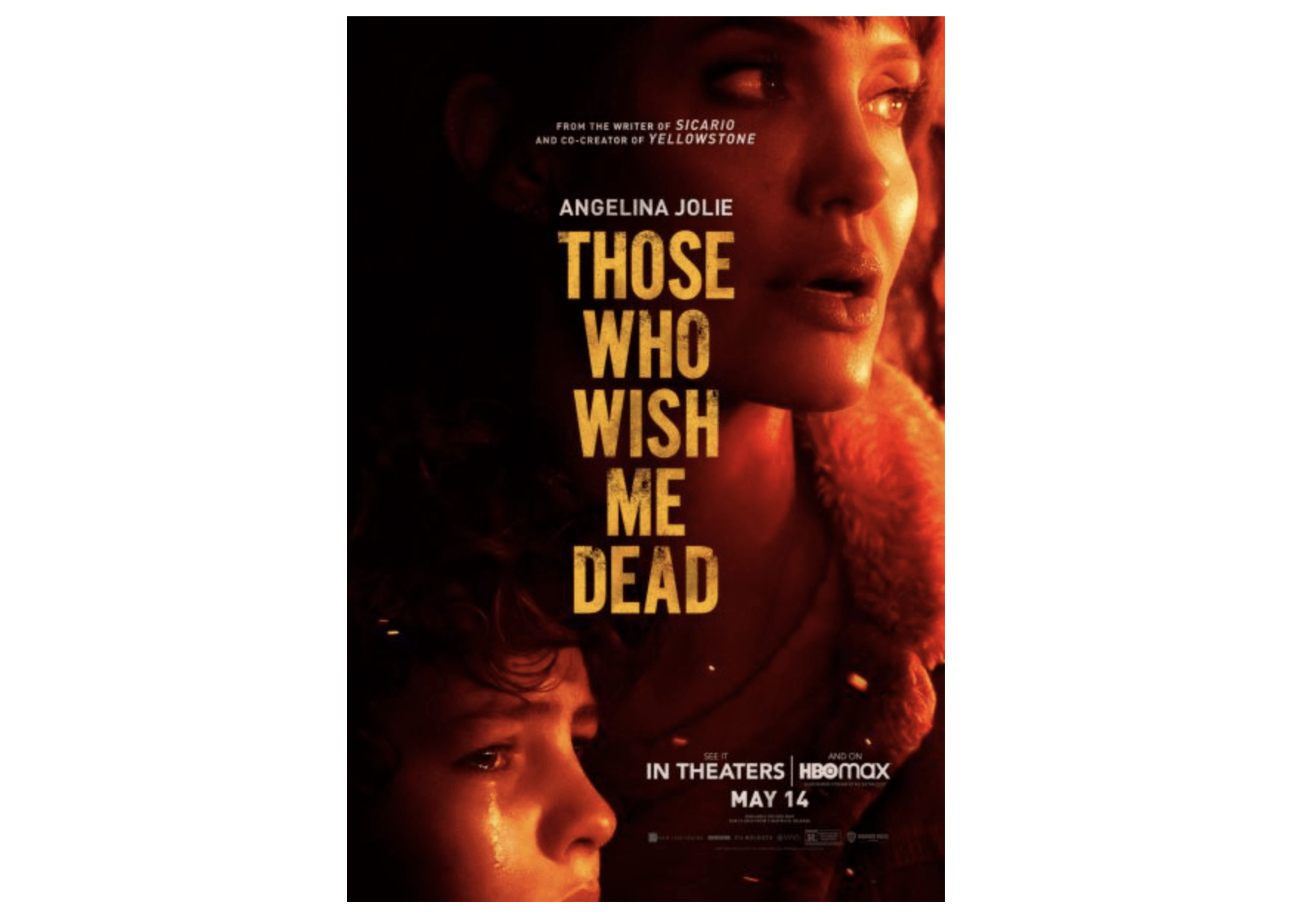 Watch the Trailer for 'Those Who Wish Me Dead' starring Angelina Jolie, In  Theaters and on HBO MAX on May 14th | Entertainment Rocks