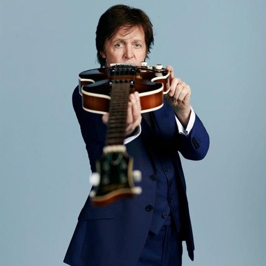 Paul McCartney se alista para 'rockear' en México