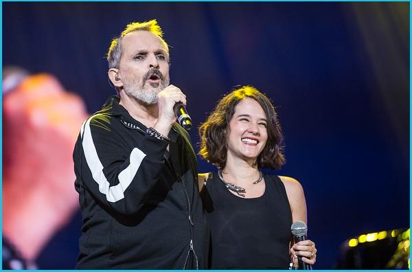 Miguel Bosé y Jimena Sariñana