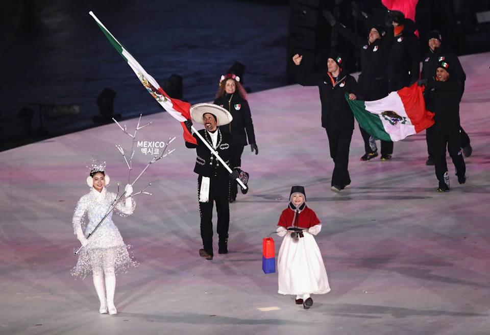 PyongChang 2018 - México 2 (Foto Tomada de FB Comité Olímpico México)