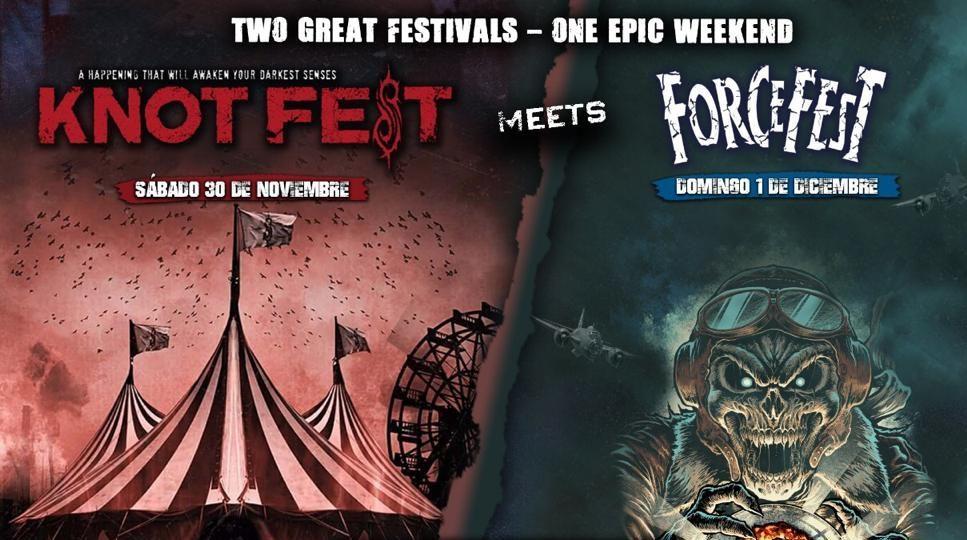 Knotfest y Force Fest se fusionan en un superfestival
