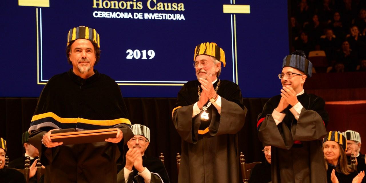 Recibe González Iñárritu Honoris Causa de la UNAM