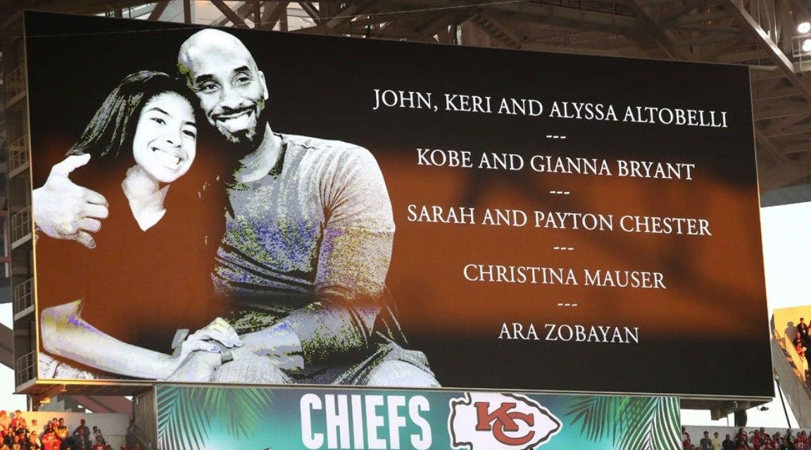 Rinden tributo a Kobe Bryant en el Super Bowl
