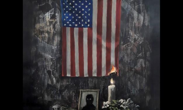 Banksy recuerda a George Floyd