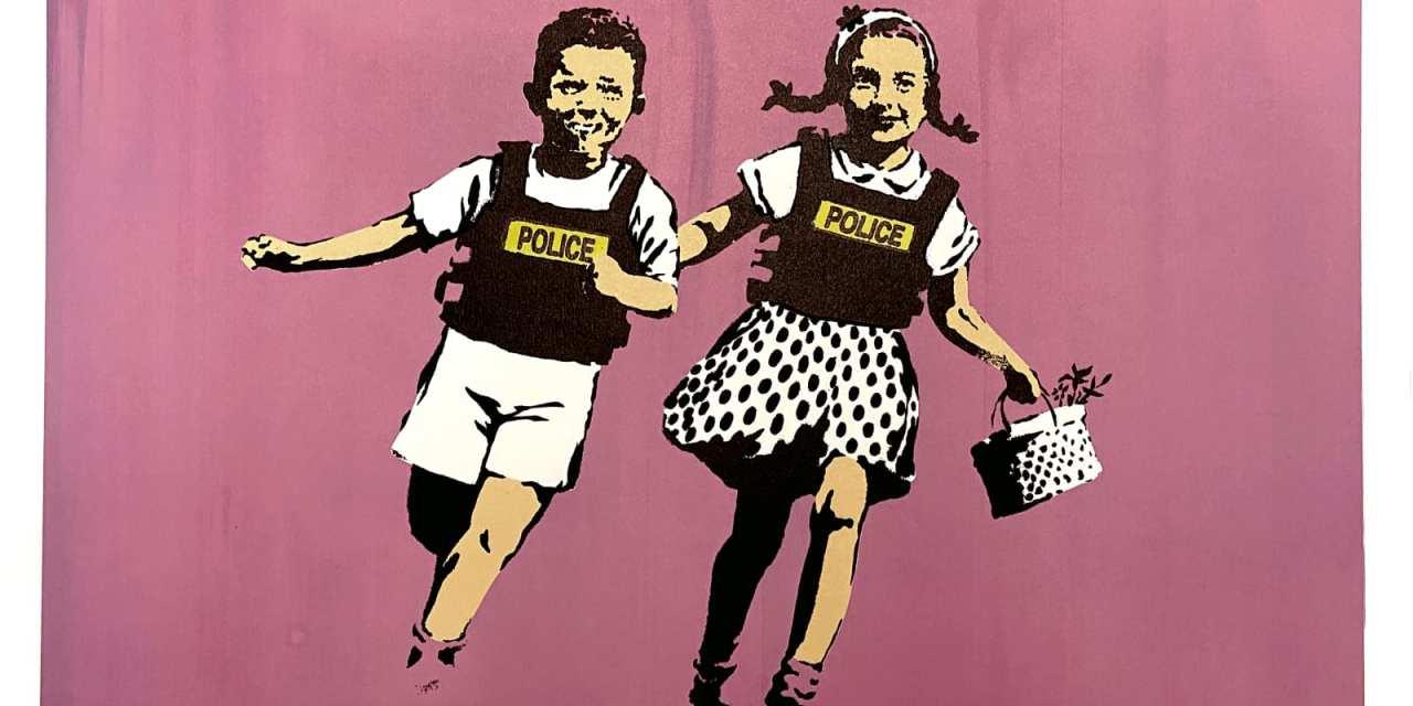 """""""Atrápame si puedes"""", la expo de Banksy en línea"""
