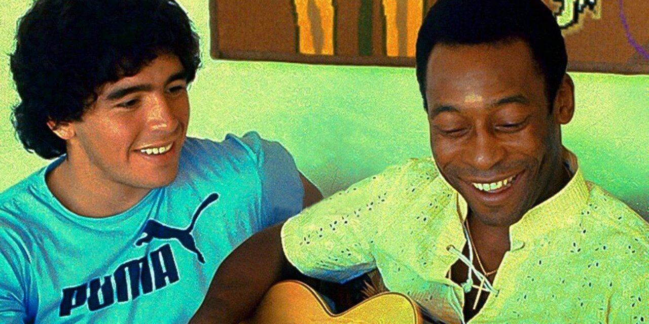 """""""En el cielo jugaremos juntos"""": El """"Rey"""" a """"D10S"""""""