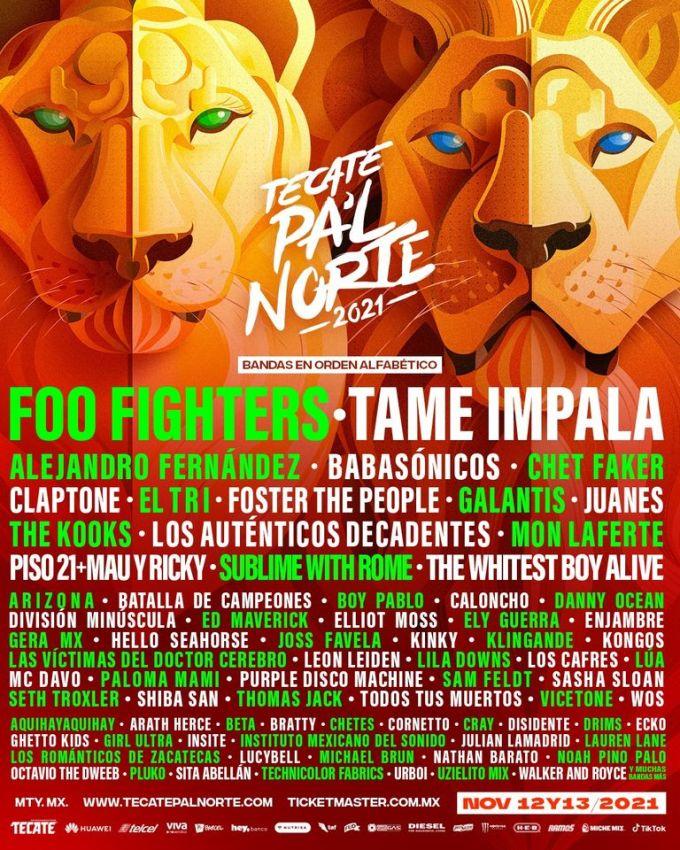 Tecate Pa'l Norte 2021
