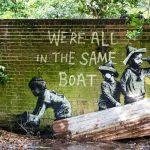 Banksy se va de vacaciones…