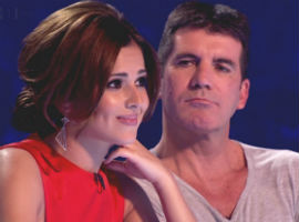 It's War! Simon Cowell And Cheryl Cole Trade Insults