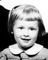 Meryl Streep childhood photo one at pinterest.com