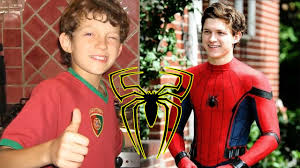 Tom Holland childhood photo one at youtube.com