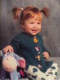 Katherine Mcnamara childhood photo one at twitter.com