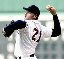 Roger Clemens younger photo one at Wikipedia.com