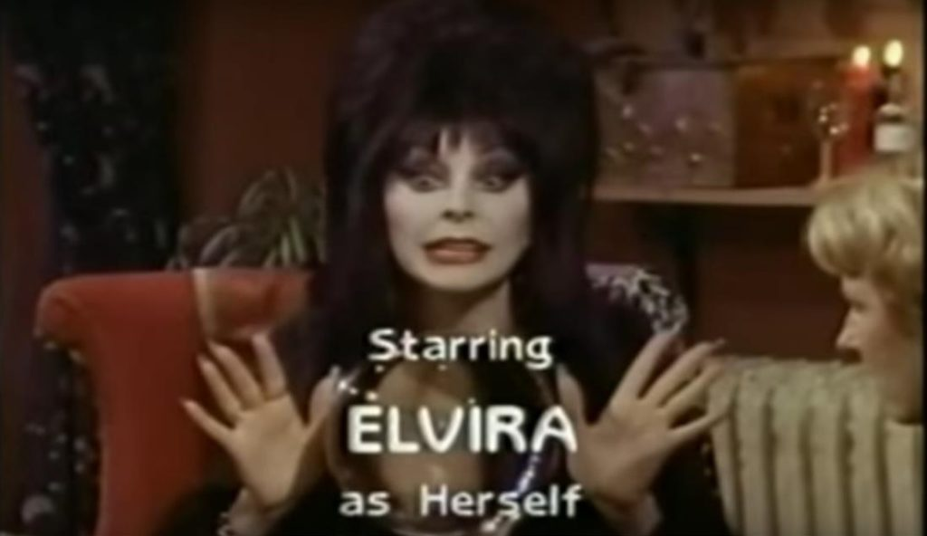 Elvira out first movie: Survival