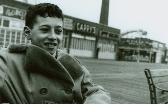 David Geffen, foto de infancia uno en spinemen.wordpress.com