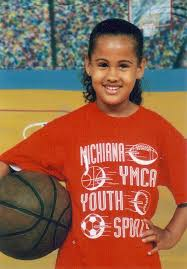 Skylar Diggins childhood photo one at pinterest.com