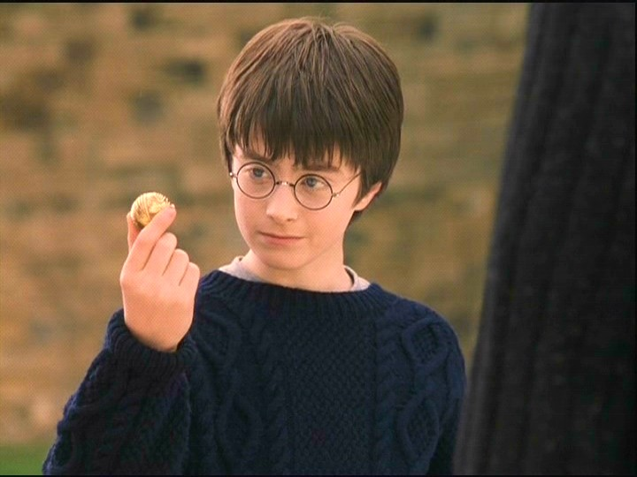 Daniel Radcliffe childhood photo one at pinterest.com