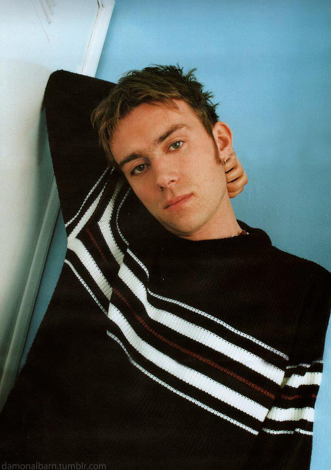 Damon Albarn younger photo two at pinterest.com