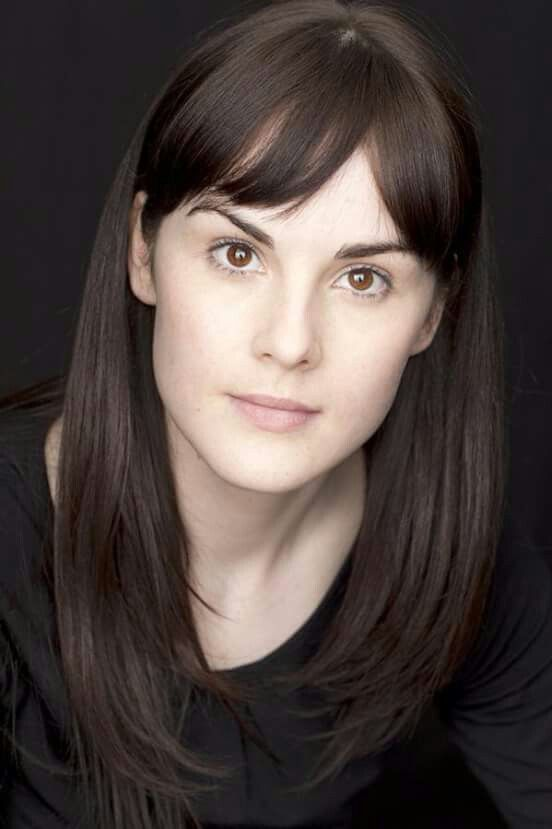 Michelle Dockery younger photo one at pinterest.com