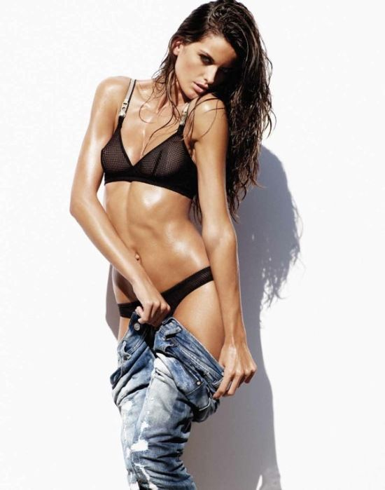 Izabel Goulart younger photo two at pinterest.com