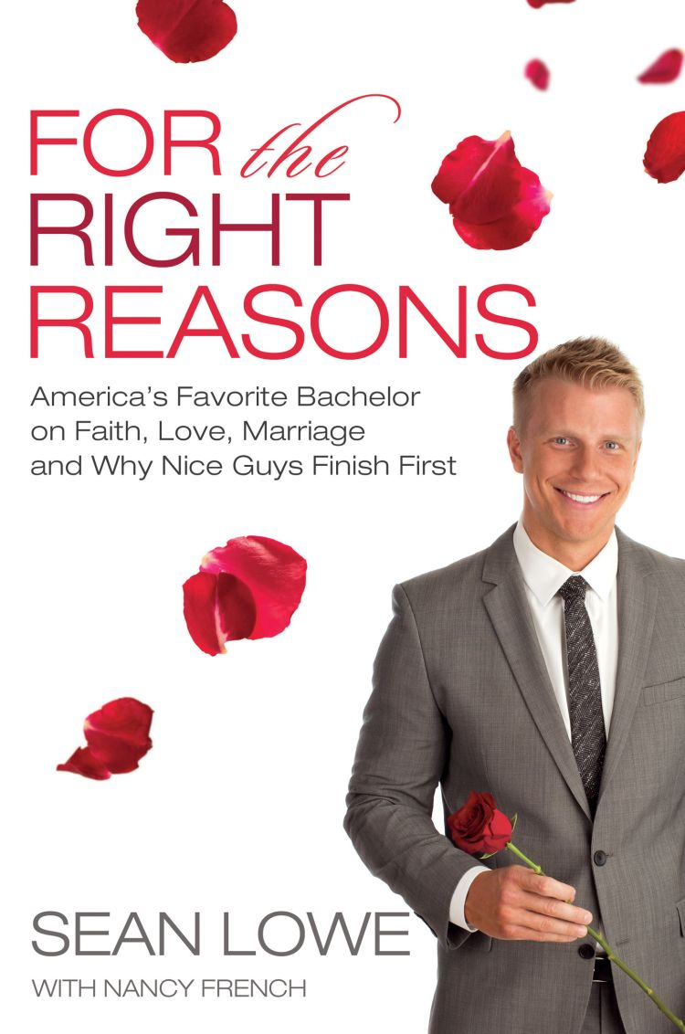 Chris could follow Sean Lowe's lead and release a book about his time on The Bachelor. (Thomas Nelson/Splash)