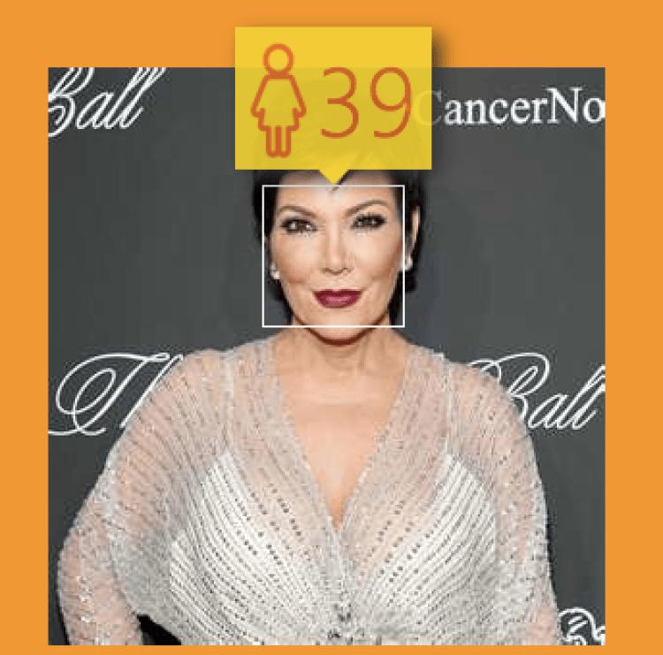 (How-Old.net) Kardashians: Kris Jenner
