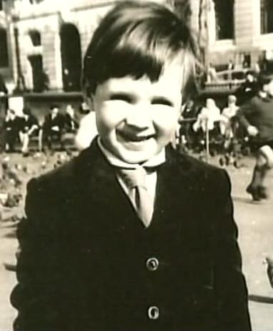 Ralph Fiennes childhood photo two at pinterest.com